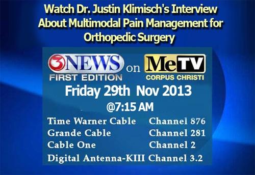 News | Knee Replacement Surgery Corpus Christi, TX | Dr Klimisch
