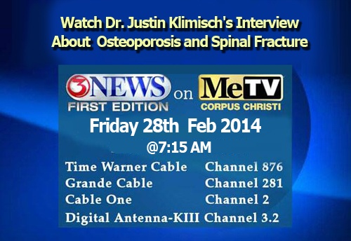 Osteoporosis Spinal Fracture by Justin Klimisch, M. D.